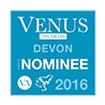Logo of the Devon Venus Awards 2016